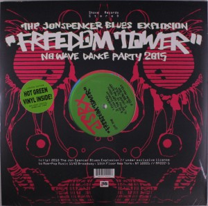 The Jon Spencer Blues Explosion - Freedom Tower: No Wave Dance Party 2015 [Green Vinyl] (LP, US) - Cover
