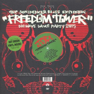 The Jon Spencer Blues Explosion – Freedom Tower: No Wave Dance Party 2015 [Green Vinyl] (LP, UK) - Cover