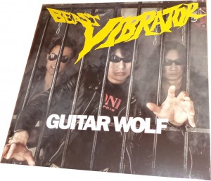 Guitar Wolf - Beast Vibrator (LP, EUROPE) - Cover