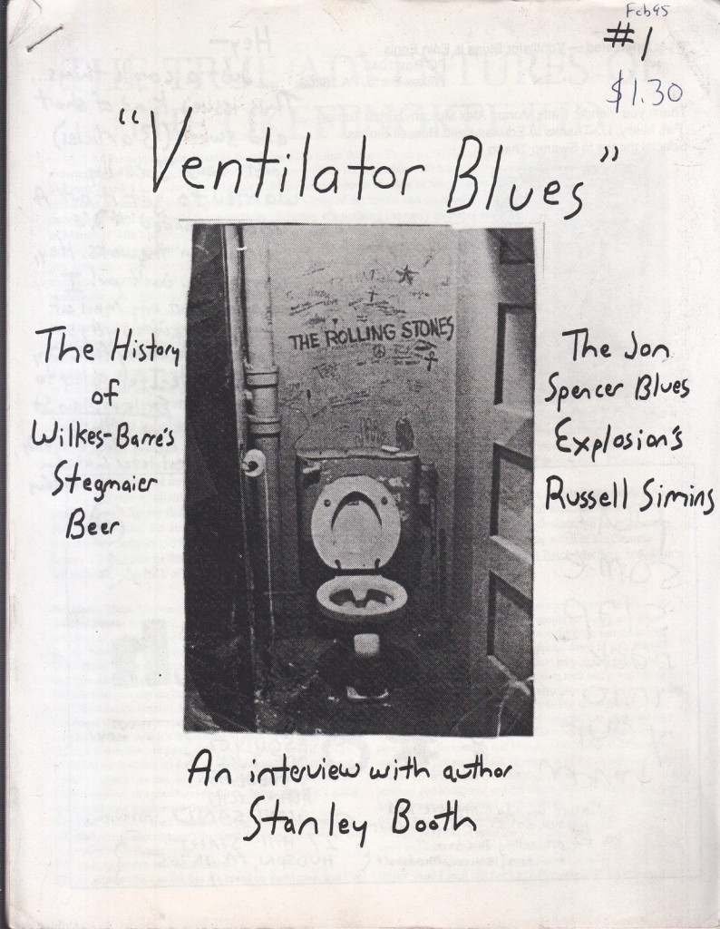 Russell Simins - Ventilator Blues (PRESS, US)