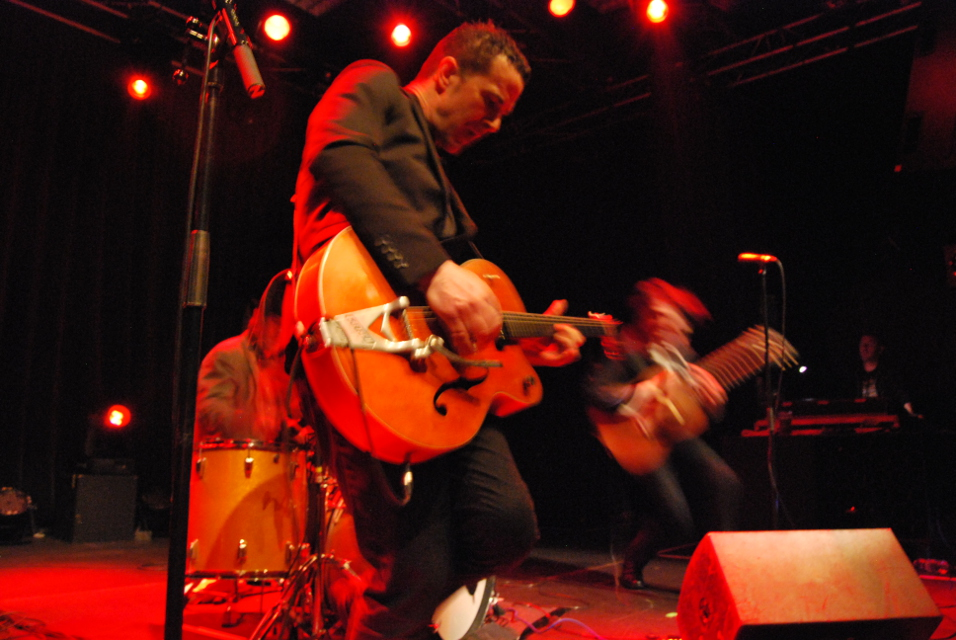 Heavy Trash – Big Band Café, Caen, France (20 February 2015)