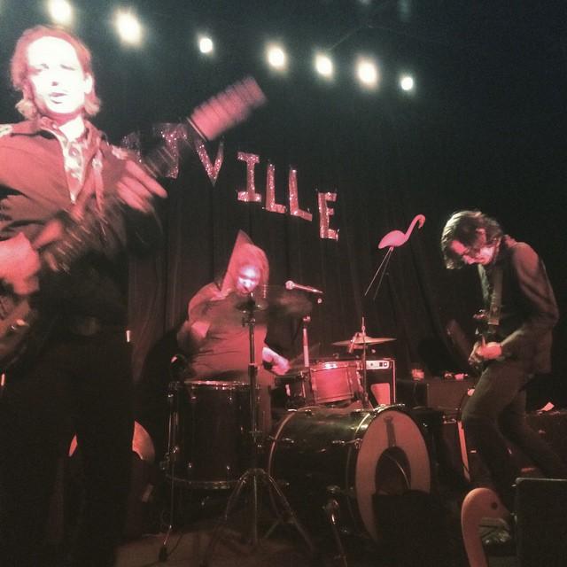 The Jon Spencer Blues Explosion - Black Bear Bar,  Brooklyn, New York, US (31 January 2015)