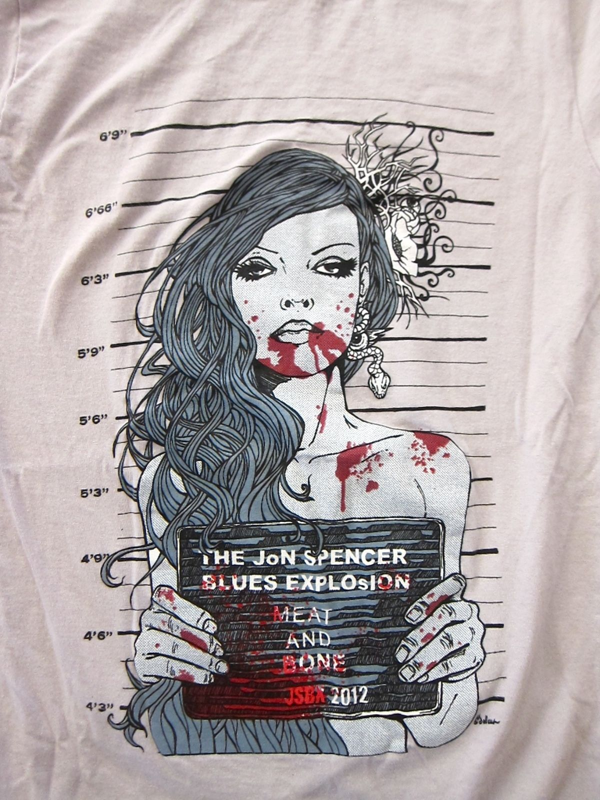 The Jon Spencer Blues Explosion - Meat and Bone (SHIRT, US)