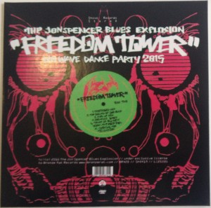 The Jon Spencer Blues Explosion - Freedom Tower: No Wave Dance Party 2015 [Promo] (CD, UK)  - Cover