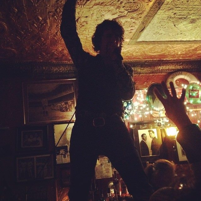 The Jon Spencer Blues Explosion – Liedy's Shore Inn, Staten Island, New York, US (23 March 2015)