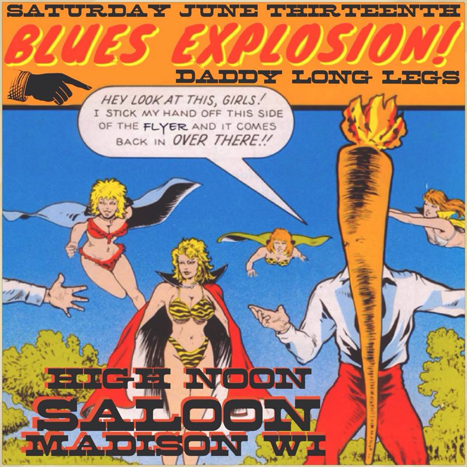 The Jon Spencer Blues Explosion – High Noon Saloon, Madison, WI, US (13 June 2015)