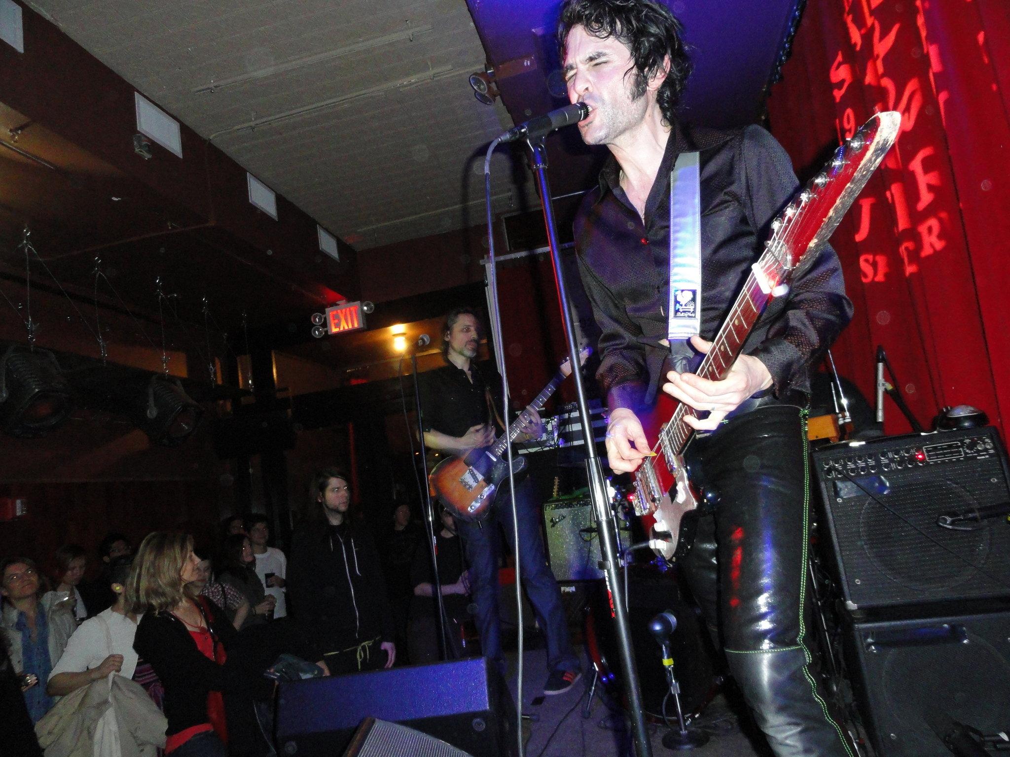 The Jon Spencer Blues Explosion - Tammany Hall, New York City, NY, US (14 December 2010)