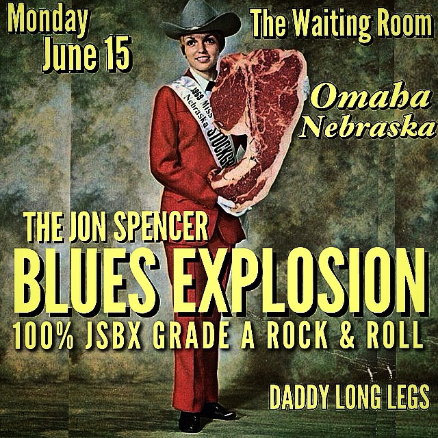 The Jon Spencer Blues Explosion – The Waiting Room Lounge, Omaha, Nebraska, US (15 June 2015)