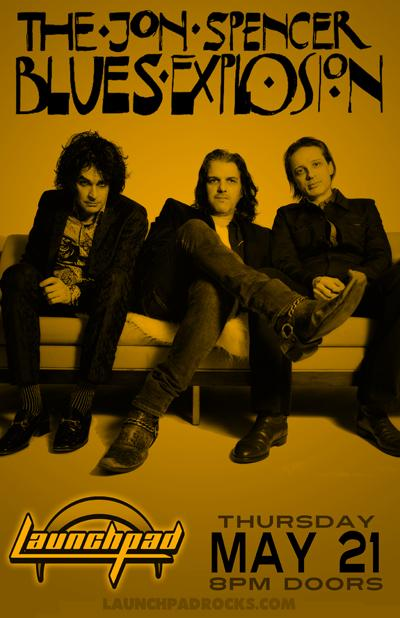 The Jon Spencer Blues Explosion - Launchpad, Albuquerque, NM, US (21 May 2015)