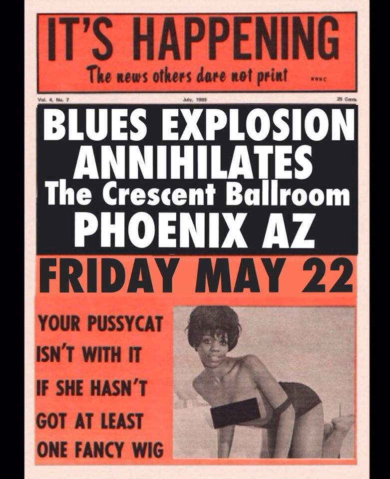 The Jon Spencer Blues Explosion – The Crescent Ballroom, Phoenix, AZ, US (22 May 2015)