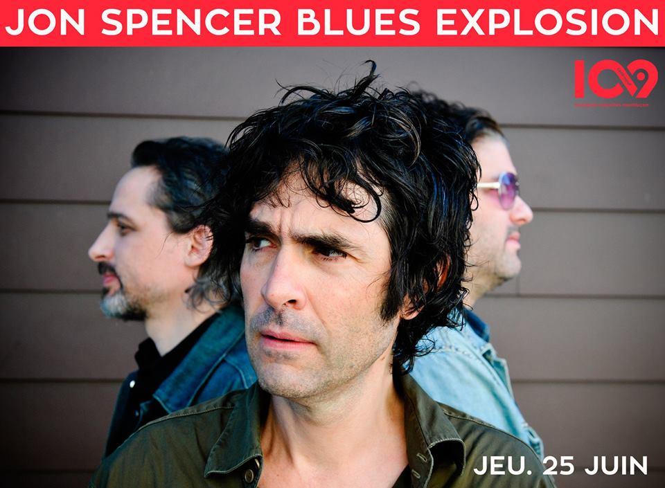 The Jon Spencer Blues Explosion - 109 Montluçon, Montluçon, France (2 June 2015)
