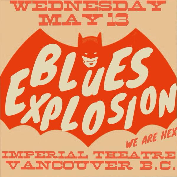 The Jon Spencer Blues Explosion - The Imperial, Vancouver, BC, Canada (13 May 2015)