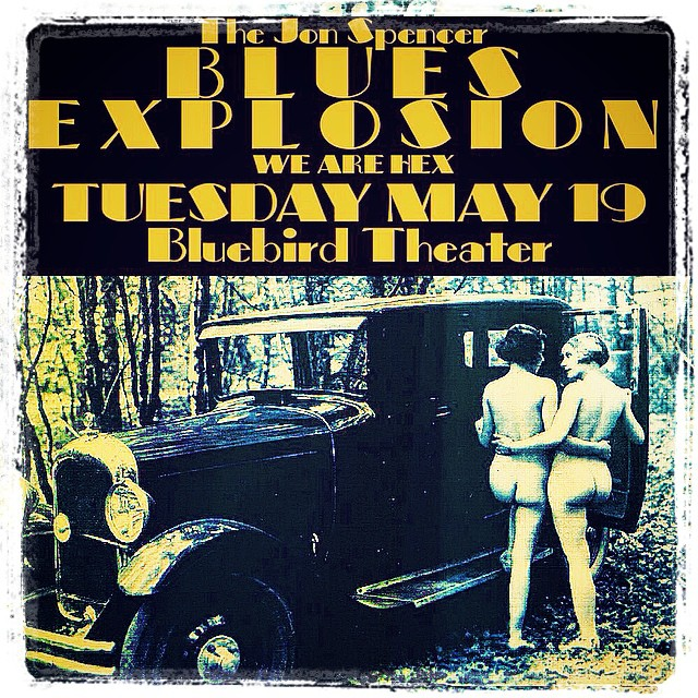 The Jon Spencer Blues Explosion - The Bluebird Theater, Denver, CO, US (19 May 2015)