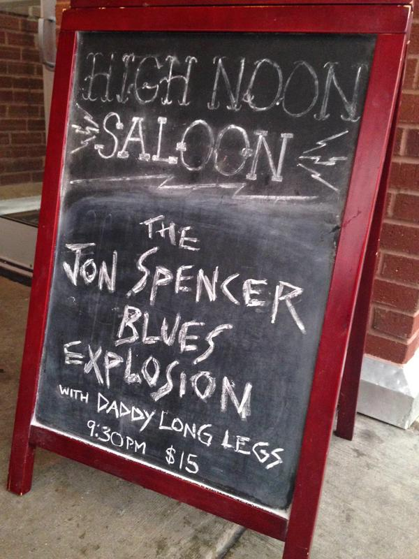 The Jon Spencer Blues Explosion - High Noon Saloon, Madison, WI, US (13 June 2015)