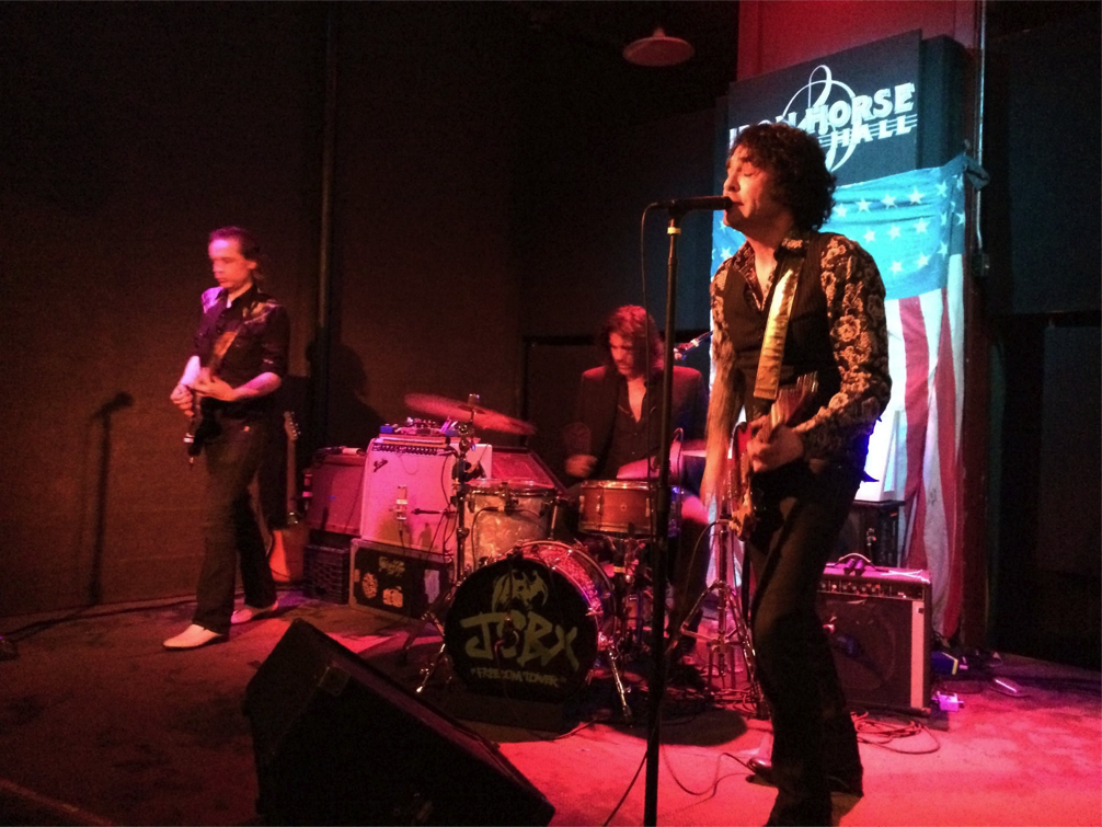 The Jon Spencer Blues Explosion - Iron Horse Music Hall, Northampton, MA, US (8 April 2015)