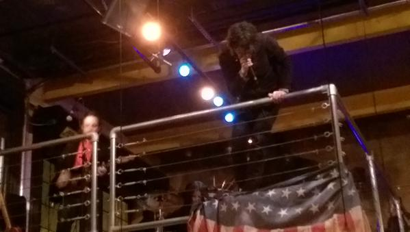 The Jon Spencer Blues Explosion – Singlecut Brewery, Queens, New York (28 March 2015) -  Brian Heater