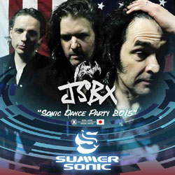 The Jon Spencer Blues Explosion - Summer Sonic Festival, Tokyo, Japan (15 August 2015) - Bootleg Cover Artwork