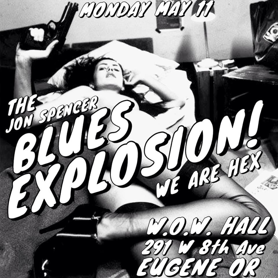 The Jon Spencer Blues Explosion – W.O.W. Hall, Eugene, OR, US (11 May 2015)