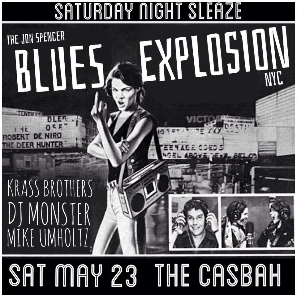 The Jon Spencer Blues Explosion – Casbah, San Diego, CA, US (23 May 2015)