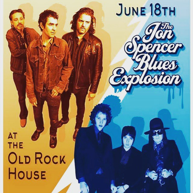 The Jon Spencer Blues Explosion - Old Rock House, St Louis, MO, US (18 June 2015)