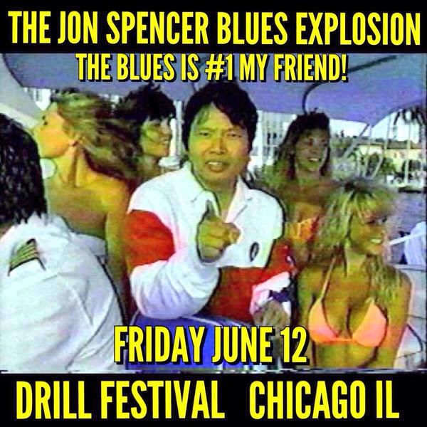 The Jon Spencer Blues Explosion - Thalia Hall, Chicago, IL, US (12 June 2015)
