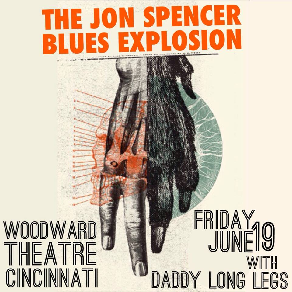 The Jon Spencer Blues Explosion – Woodward Theater, Cincinnati, OH, US (19 June 2015)