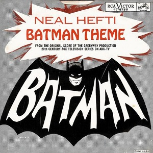 "Neal Hefti - Batman Theme (7"", US) - Cover"