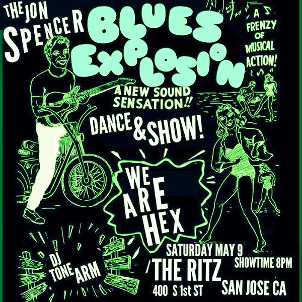 The Jon Spencer Blues Explosion – The Ritz, San Jose, CA, US (9 May 2015)