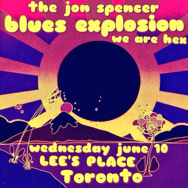 The Jon Spencer Blues Explosion - Lee's Palace, Toronto, Canada (10 June 2015)
