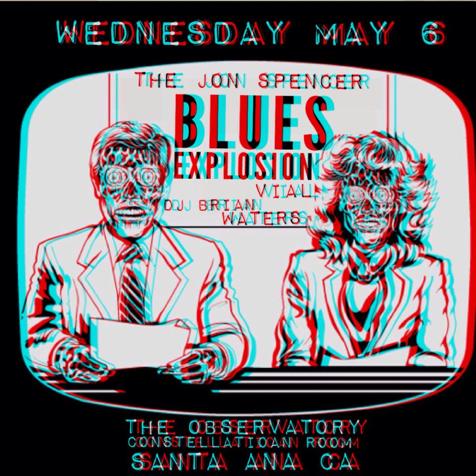 The Jon Spencer Blues Explosion – Constellation Room, Santa Ana, CA, US (6 May 2015)