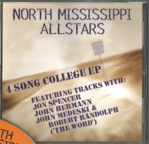 North Mississippi Allstars / Spencer Dickinson - 4 Song College EP [Promo] (CD, US)  - Cover