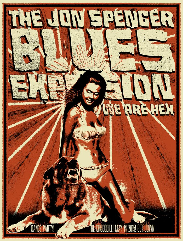 The Jon Spencer Blues Explosion – The Crocodile, Seattle, WA, US (14 May 2015