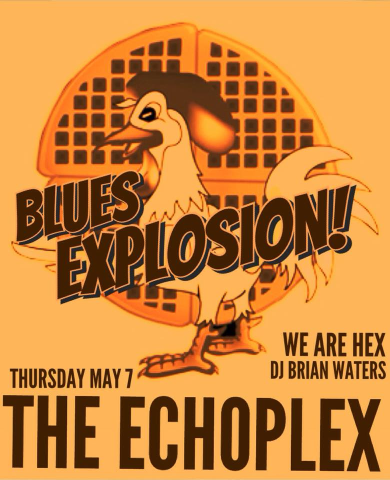 The Jon Spencer Blues Explosion - The Echoplex, Los Angeles, CA, US (7 May 2015)