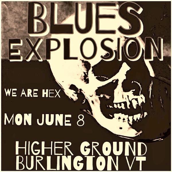 The Jon Spencer Blues Explosion – Showcase Lounge – Higher Ground, South Burlington, VT, Canada (8 June 2015)