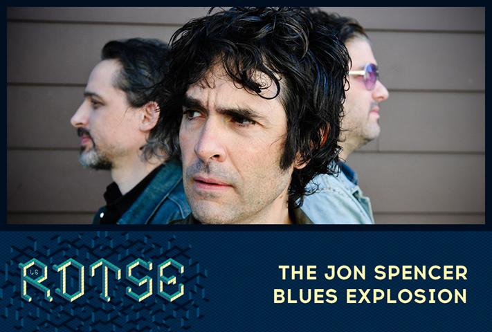 The Jon Spencer Blues Explosion - Le Rock Dans Tous Ses Etats, Evreux Hippodrome, Evreux, Normandy, France (27 June 2015)