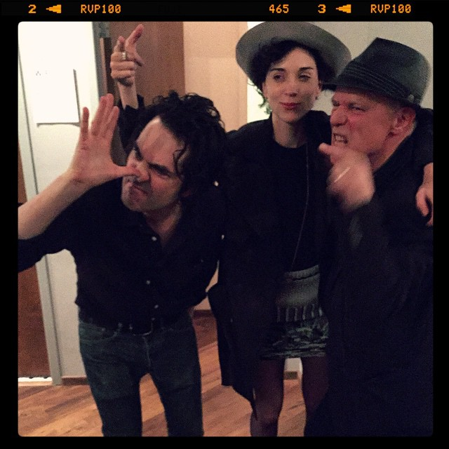 Jon Spencer, St. Vincent and Graham Lewis