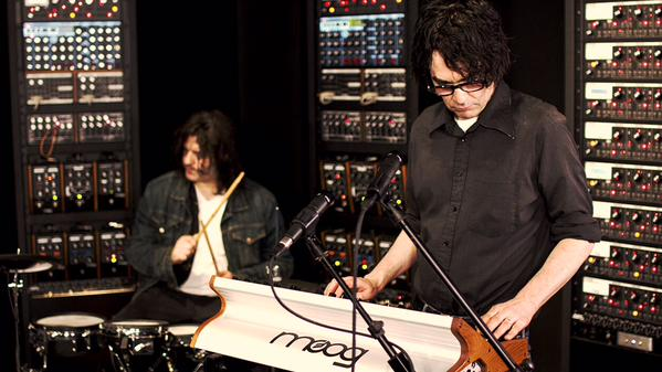 The Jon Spencer Blues Explosion - Moog Sound Lab, Asheville, NC, US (15 April 2015)