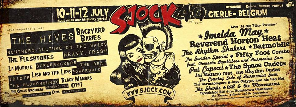 Heavy Trash - Sjock Festival, Gierle, Belgium (11 July 2015)