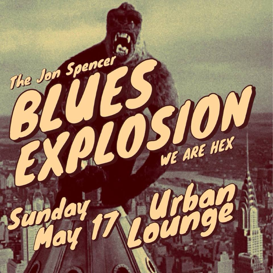 The Jon Spencer Blues Explosion – Urban Lounge, Salt Lake City, UT, US (17 May 2015)