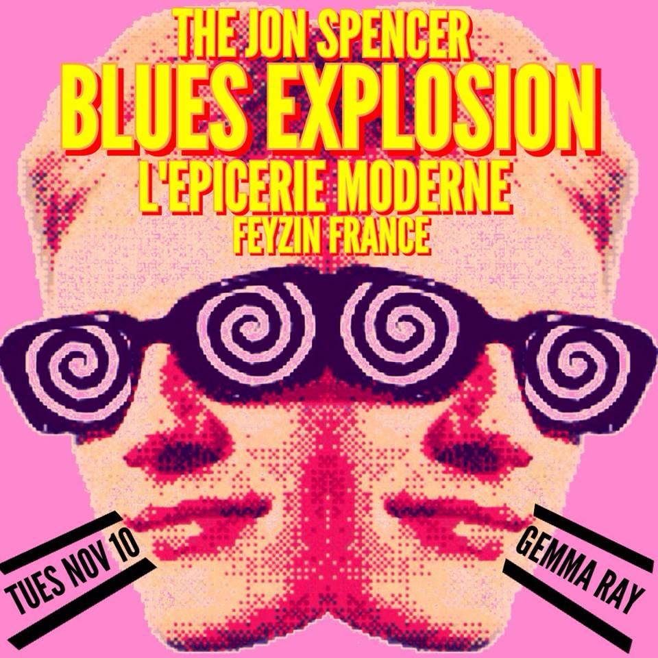 The Jon Spencer Blues Explosion – L'Épicerie Moderne, Feyzin, France (10 November 2015) – CANCELLED
