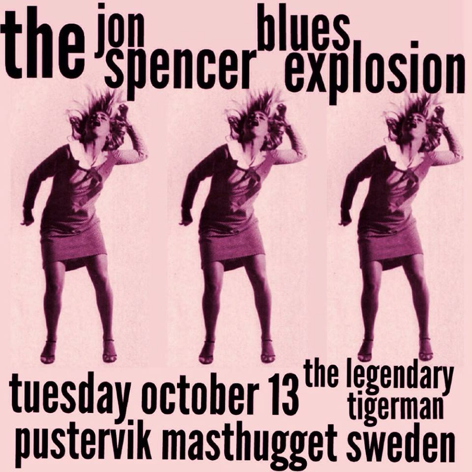 The Jon Spencer Blues Explosion – Pustervik, Göteborg, Sweden (13 October 2015)