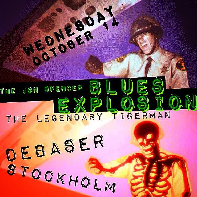 The Jon Spencer Blues Explosion – Debaser, Stockholm, Sweden (14 October 2015)