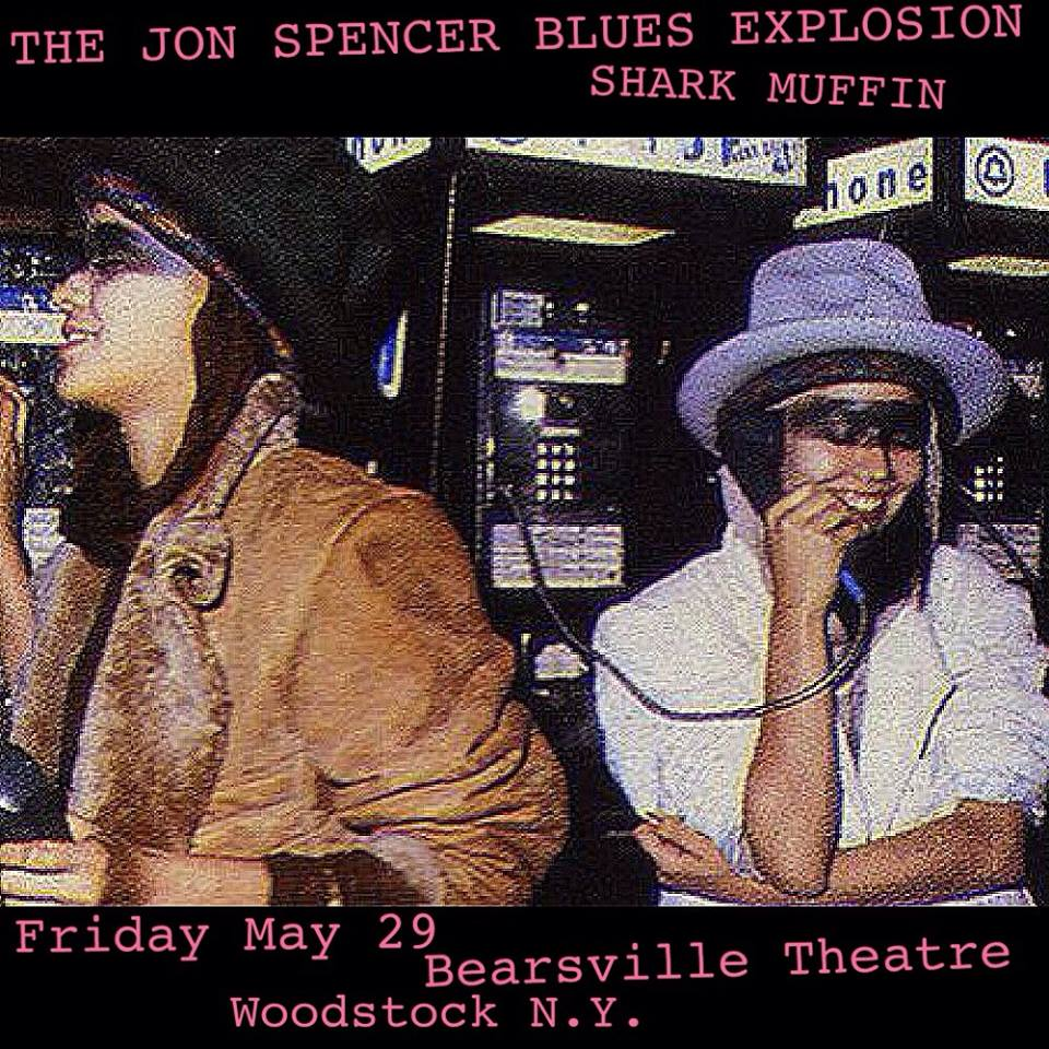 The Jon Spencer Blues Explosion – Bearsville Theater, Woodstock, New York, US (29 May 2015)