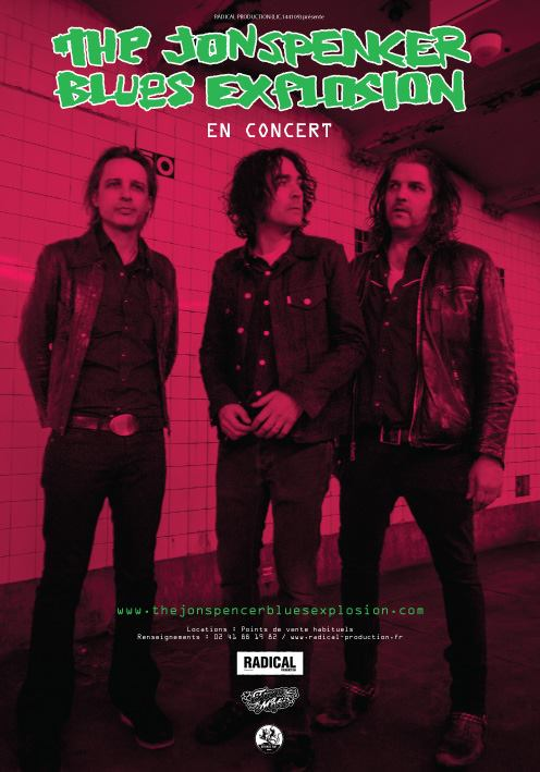 The Jon Spencer Blues Explosion - La Gaîté Lyrique, Paris, France (4 November 2015)