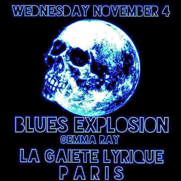 The Jon Spencer Blues Explosion - La Gaîté Lyrique, Paris, France (4 November 2015)