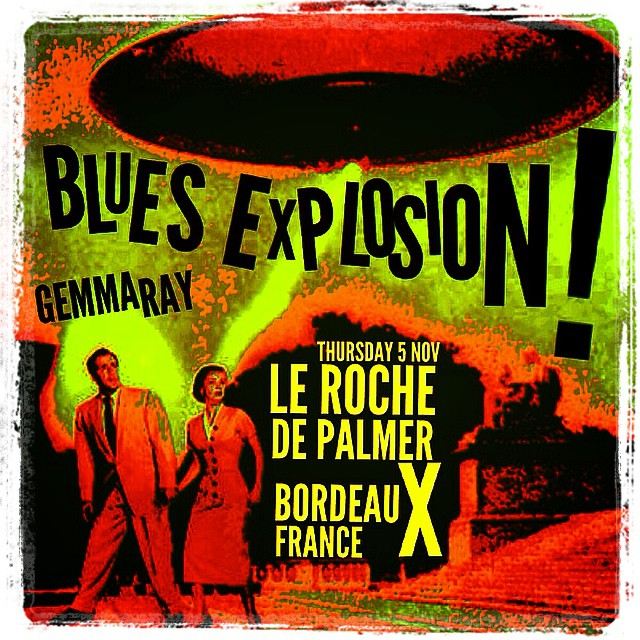 The Jon Spencer Blues Explosion - Le Rocher de Palmer, Bordeaux, France (5 November 2015)