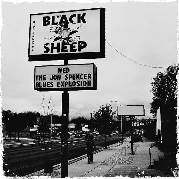 The Jon Spencer Blues Explosion – Black Sheep, Colorado Springs, CO, US (20 May 2015)