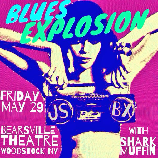 The Jon Spencer Blues Explosion – Bearsville Theater, Woodstock, New York, US (29 May 2015)