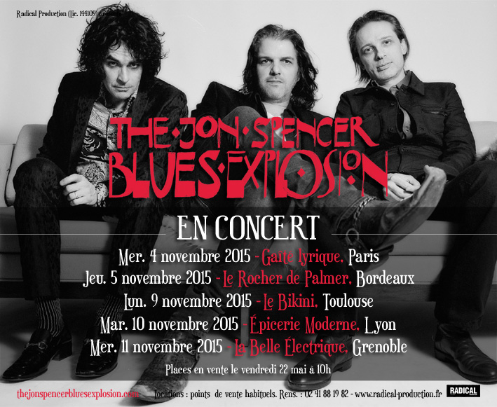 The Jon Spencer Blues Explosion En Concert
