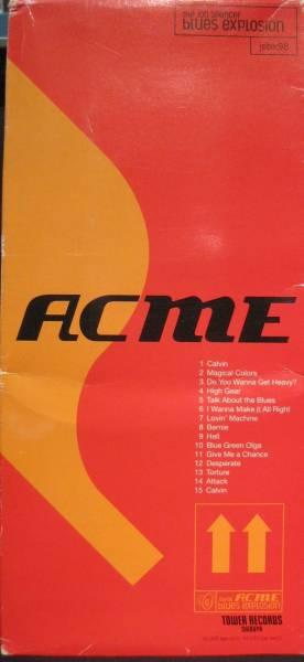 The Jon Spencer Blues Explosion - Acme (LONG BOX, JAPAN)